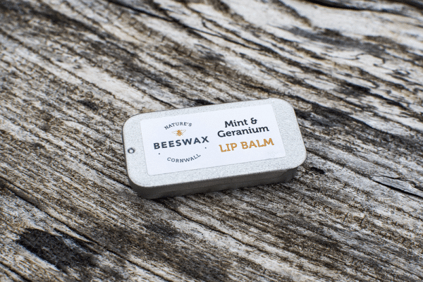 image of beeswax lip balm tin