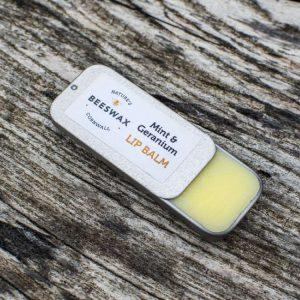 image of beeswax lip balm