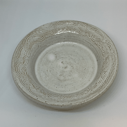 image of ceramic candle dish